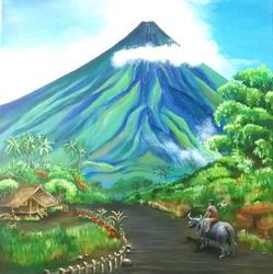 Mayon Volcano by dakky2772