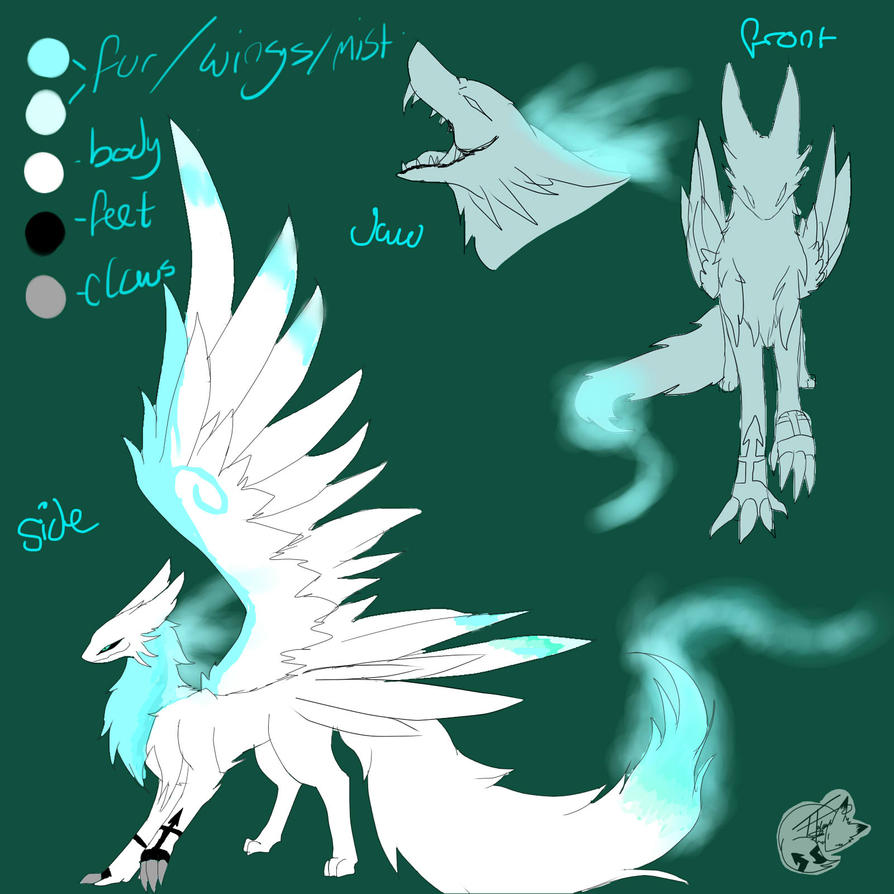 Dragon Oc by lazyfoxxx on DeviantArt
