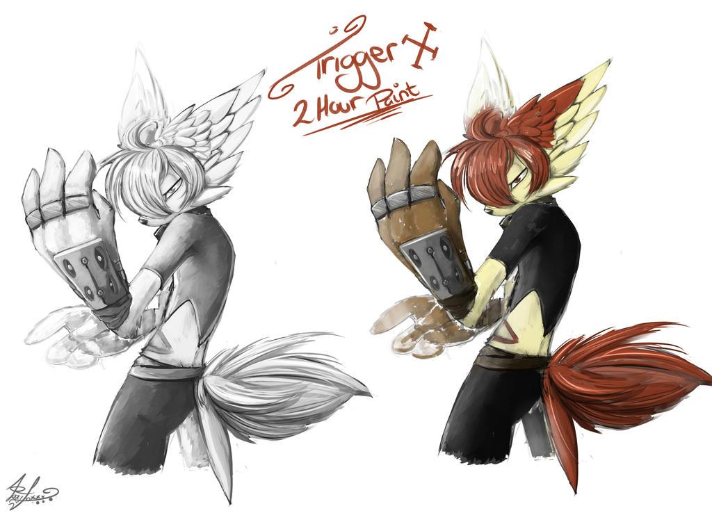 Trigger X 2 Hours by lazyfoxxx