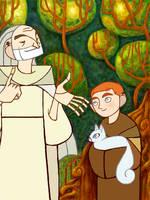Secret of Kells Fanart by holy-shpootnik