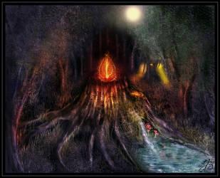Magic Stump by juliazip