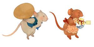 Mice by lemonflower