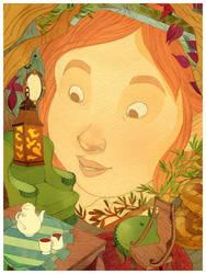 Peek by lemonflower