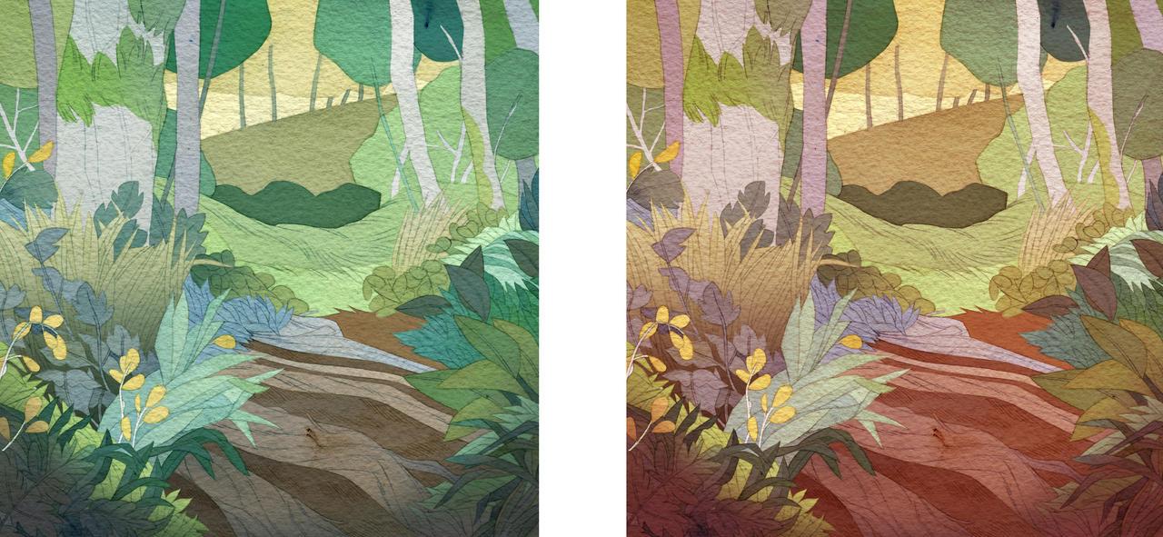 In The Woods by lemonflower