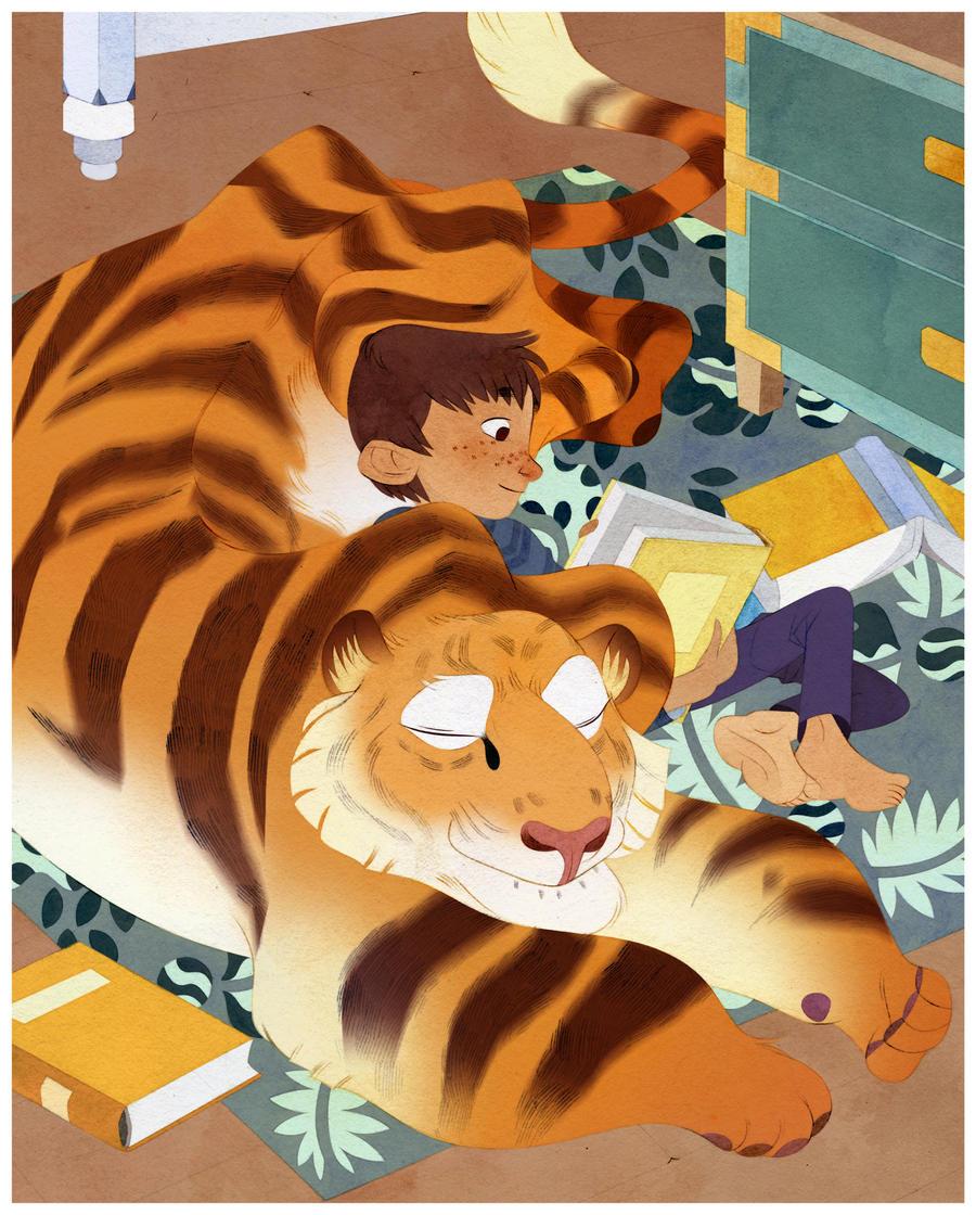 Tiger Tiger by lemonflower