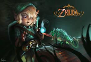 legend of zelda by kaji02