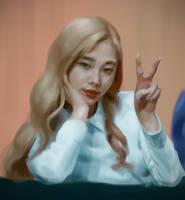 YeoJin fan art by kaji02