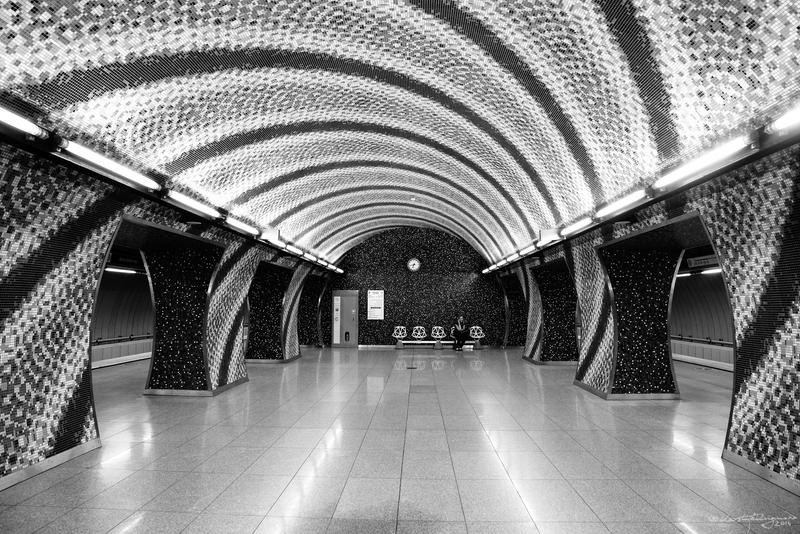 World Spiral / A Rifled Metro Station