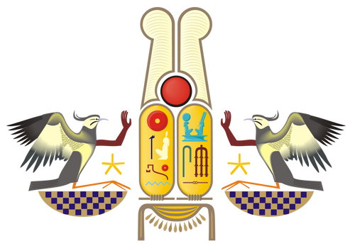 Ramesses the Great's Cartouches Adored by Rekhyts