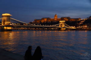 Blue Hour Budapest series - Inviting Budapest by HoremWeb