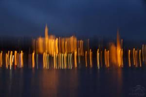 Blue Hour Budapest series - Vibrating Budapest by HoremWeb