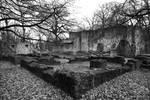 Stonewell Sancte Maria Magdalene Monastery BW