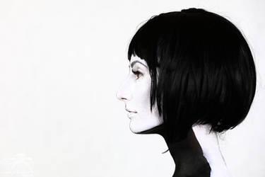 Profile in Black and White