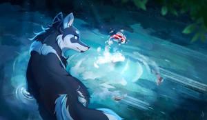 Water Magic by Vilina