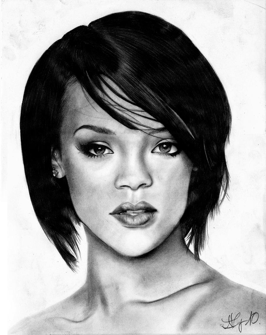 rihannah hair styles rihanna by stacytang on deviantart 3324