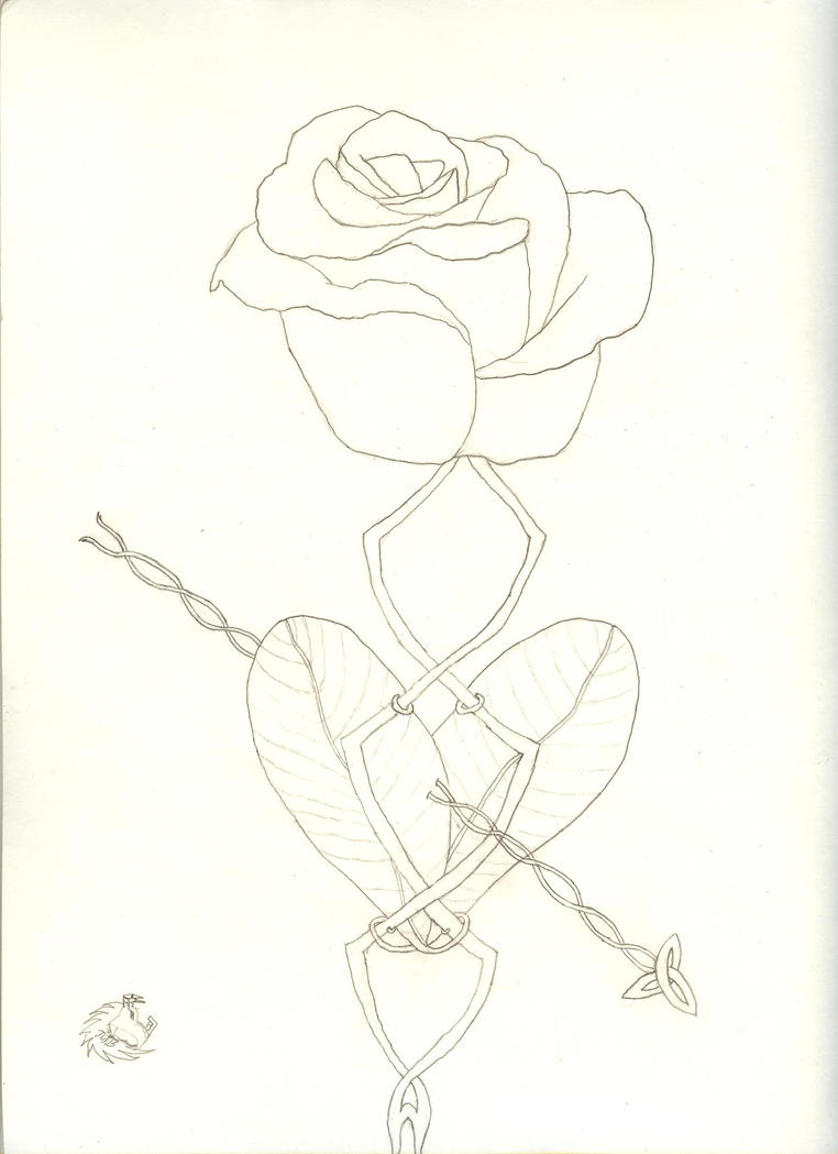 rose tattoo designs for men