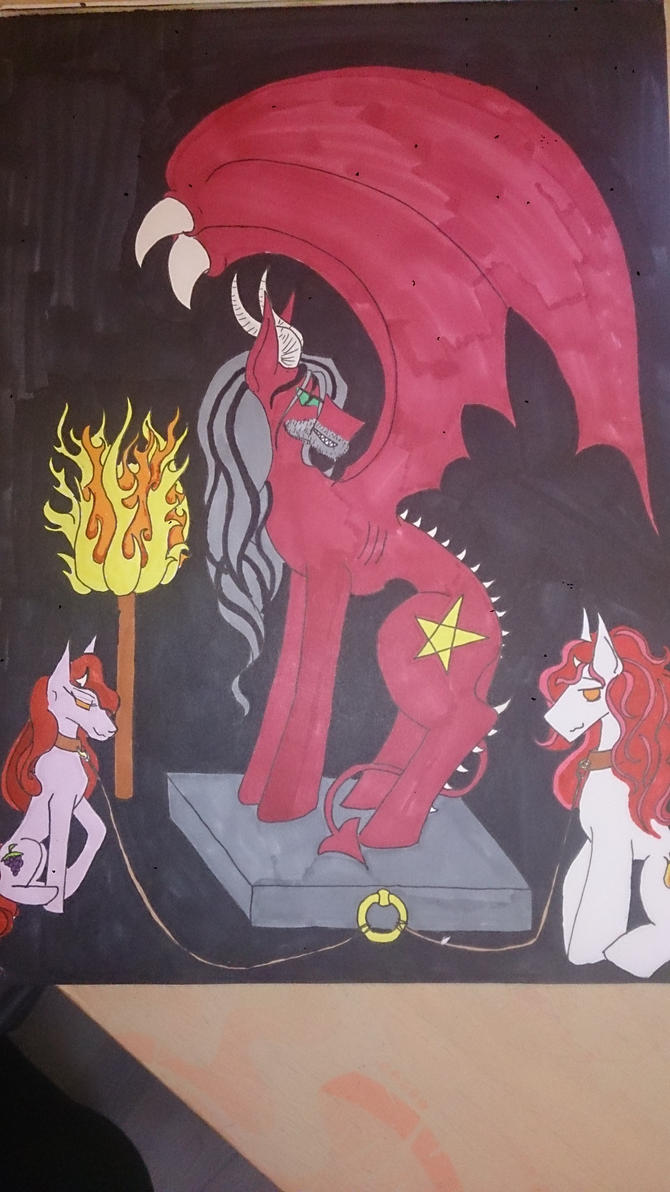 The devil by LadyKakurine