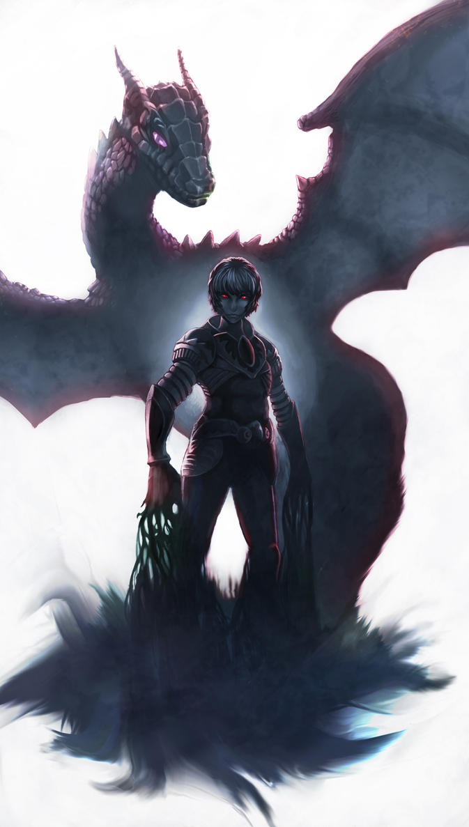 Anime shadow knight