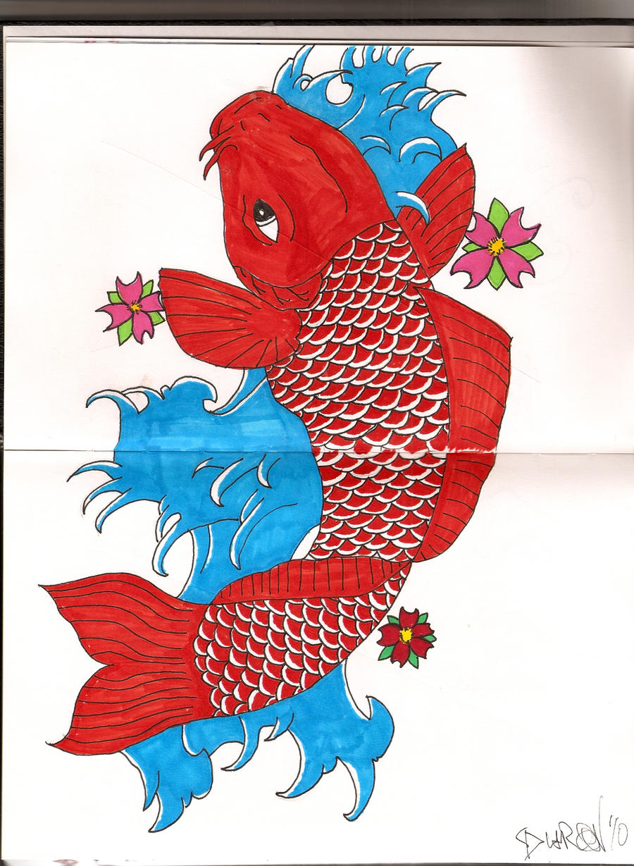 Koi fish by agentofkhoas27 on