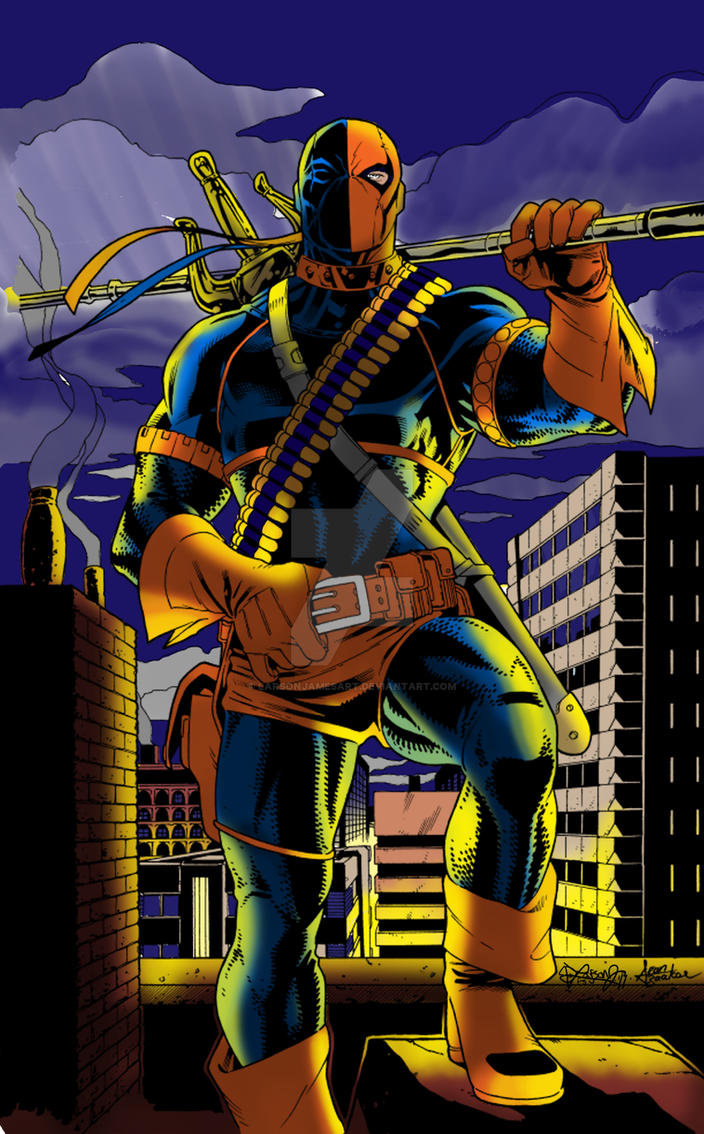 Deathstroke the Terminator by LarsonJamesART