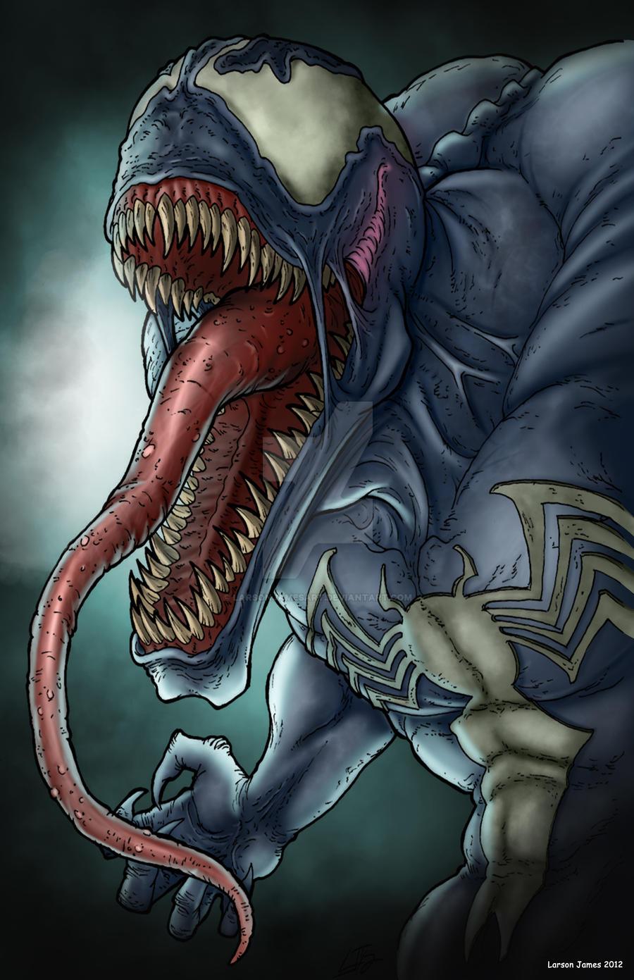 Venom by LarsonJamesART