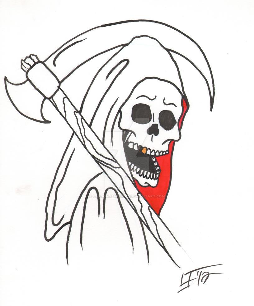 Grim Reaper by LarsonJamesART