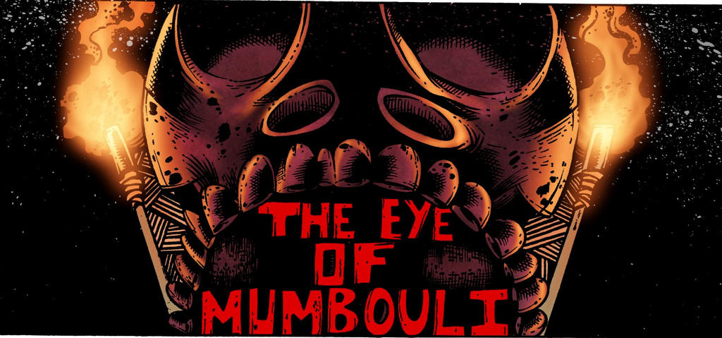 Eye of Mumbouli pg1 Detail by LarsonJamesART