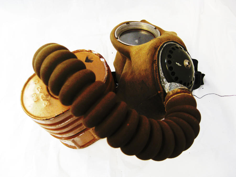 WWII Gas Mask by diaccia