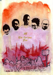 The Furious Five by diaccia