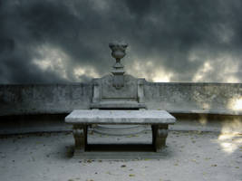 Blue Altar by Kittyd-Stock