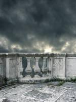 Premade Small Balcony by Kittyd-Stock
