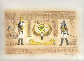Geroglifici - Hieroglyphic by Siddhartha612