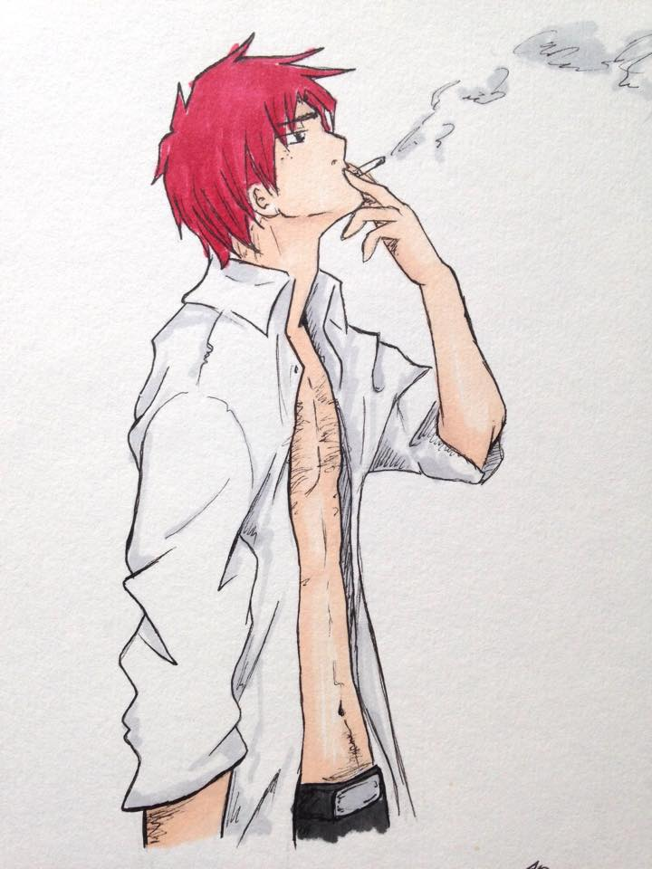 Smoker by Szkot-aye