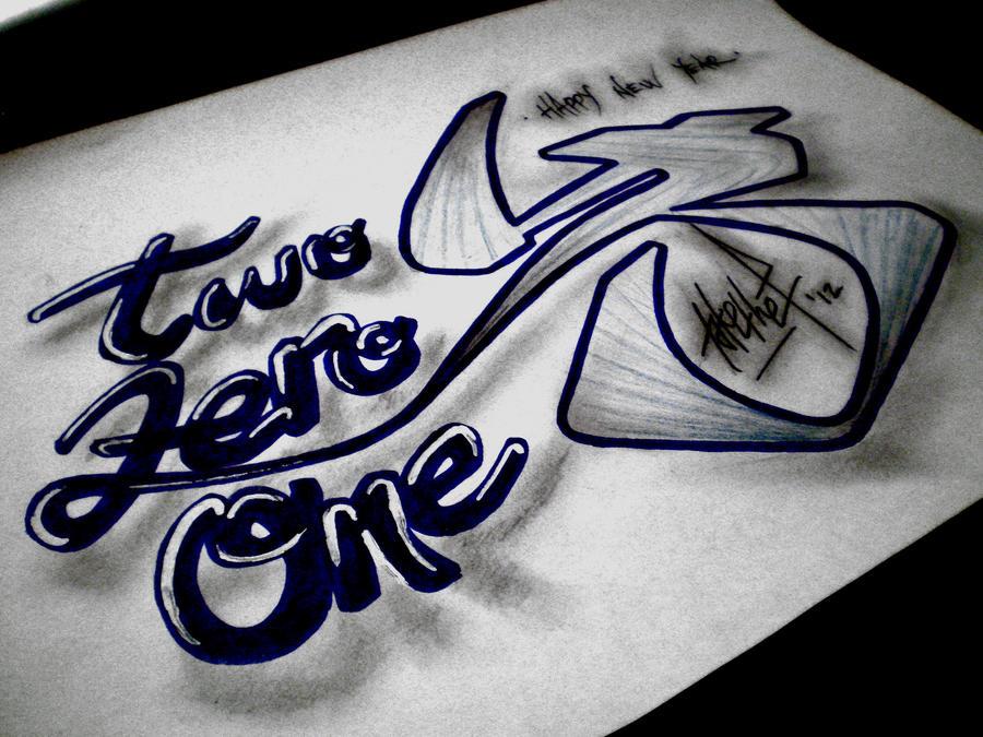 2013 (Two Zero One 3) by takethef