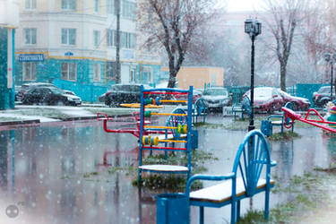 First snow by Parasenak