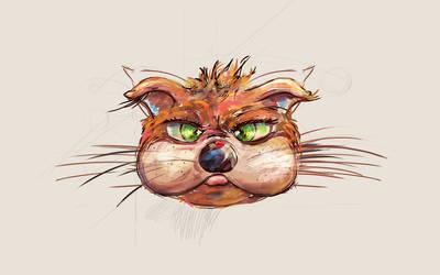 Cat by Parasenak
