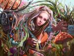 Mushroomland by anotherwanderer