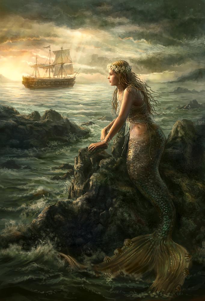 Lil' mermaid 2 by anotherwanderer