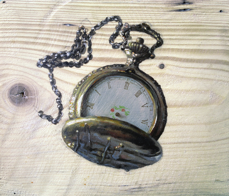 Pocket watch by anotherwanderer