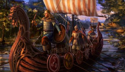 Arkona - Vlad by anotherwanderer