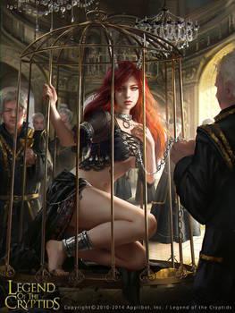 Legend of the Cryptids - Caged Demon Fiorentina