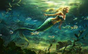 Mermaid by anotherwanderer