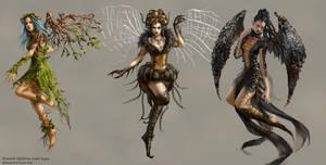 Summer fairies by anotherwanderer
