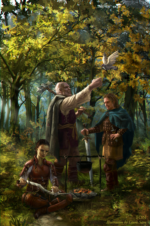 EON:Adventurers by anotherwanderer