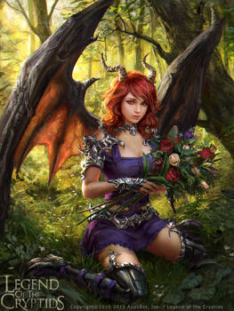 Legend of the Cryptids - Anneli, Beguiled Demon