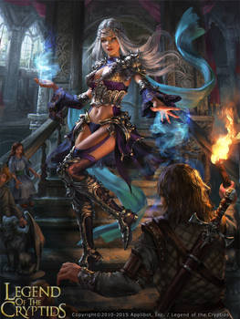 Legend of the Cryptids - Lorraine adv.