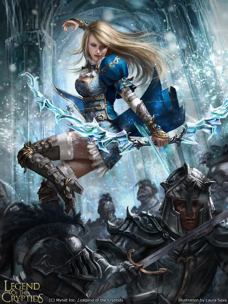 goddess crystal knight