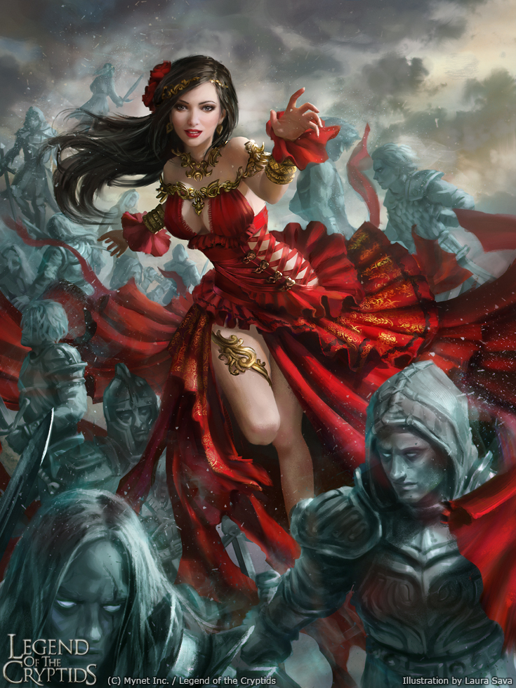 Legend of the Cryptids - Carmen adv.