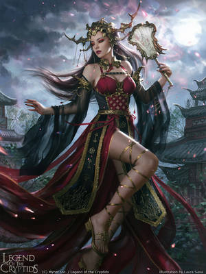 Legend of the Cryptids - Huifang adv. by anotherwanderer
