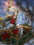 Legend of the Cryptids - Yule Queen Lalanoel adv.
